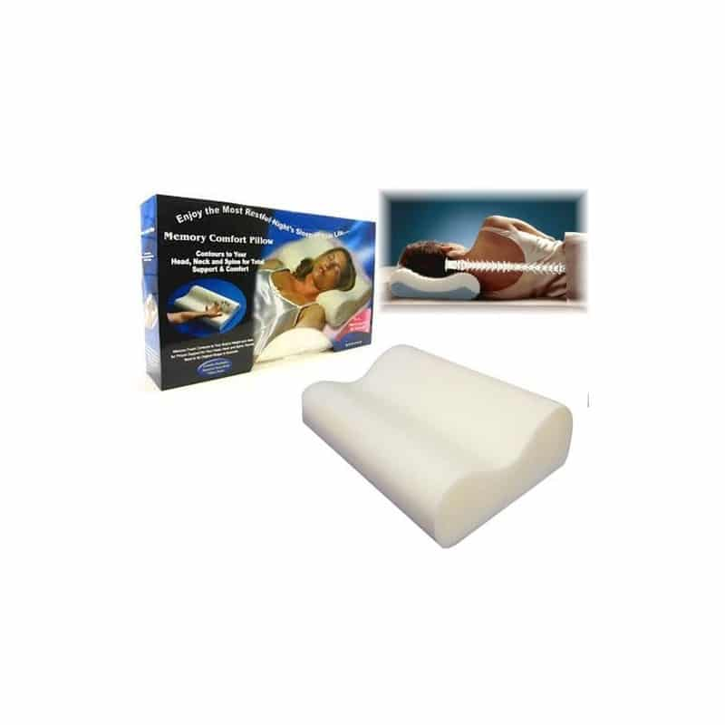 almohada-viscoelastica-cervical-memory-pillow