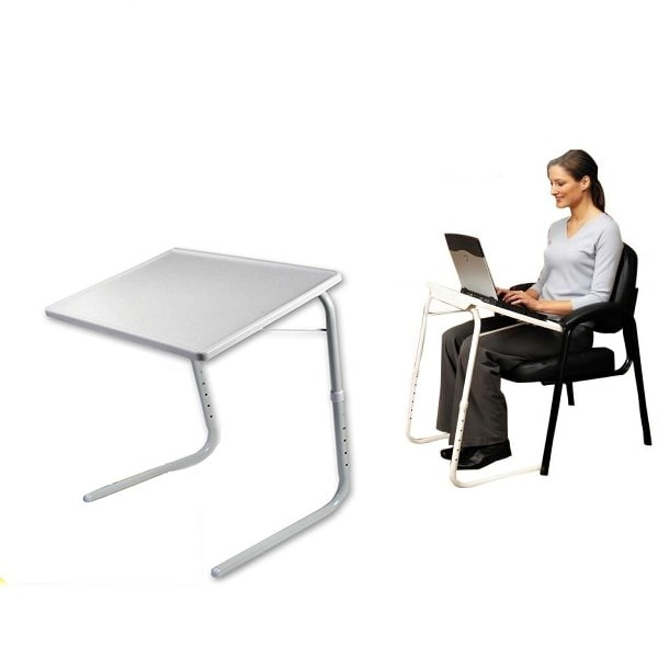 table mate 2 mesa auxiliar plegable multifuncion