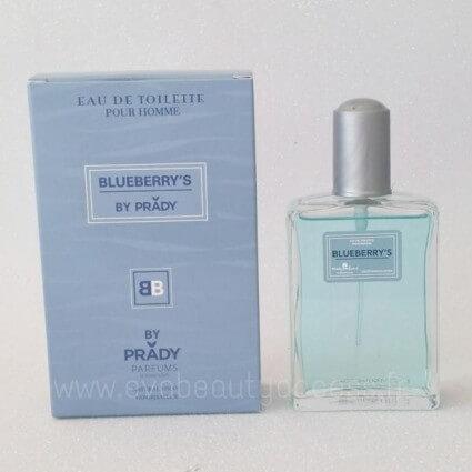 perfume generico agua de colonia hombre blueberry's homme 100ml prady