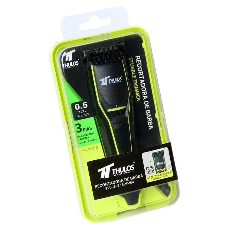 Recortador de barba THULOS TH-CP310 verde