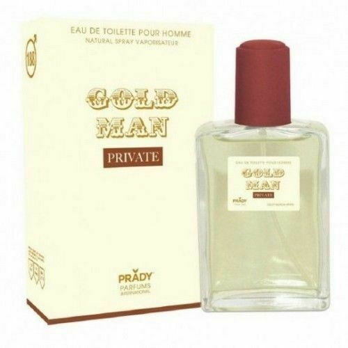 Prady hombre Golden Man Private pour homme 100 ml