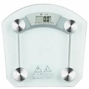 Bascula de baño digital cristal templado
