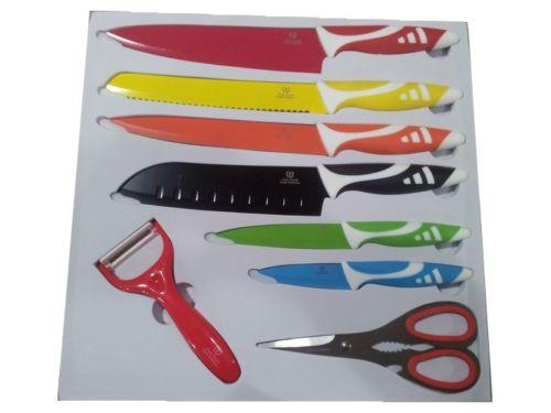 set 6 cuchillos tijeras y pelador