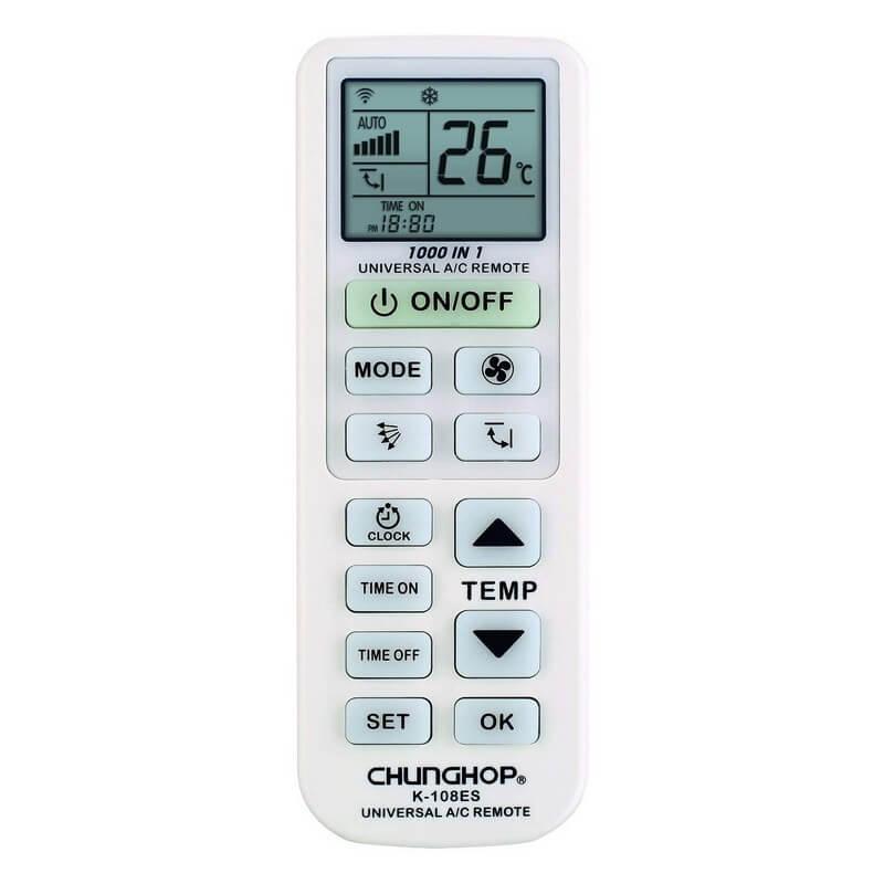 mando aire acondicionado ghunghop k-108es
