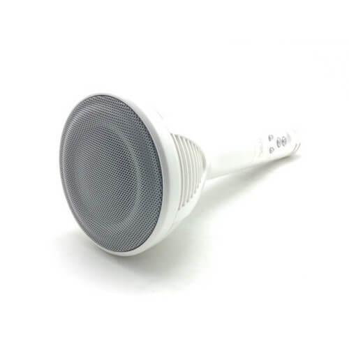 microfono wster ws-1698 blanco tumbado