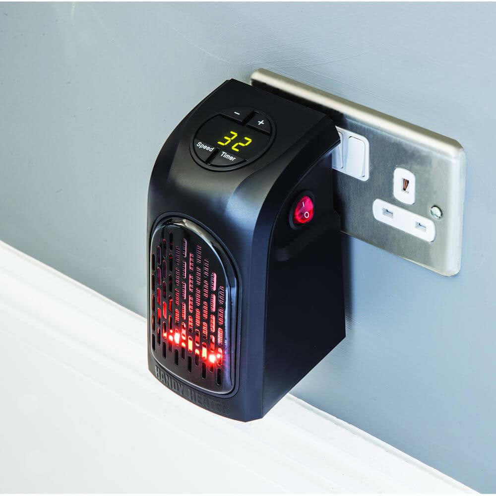 estufa eléctrica de pared bajo consumo