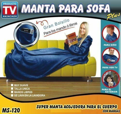 Batamanta plus manta para sofa