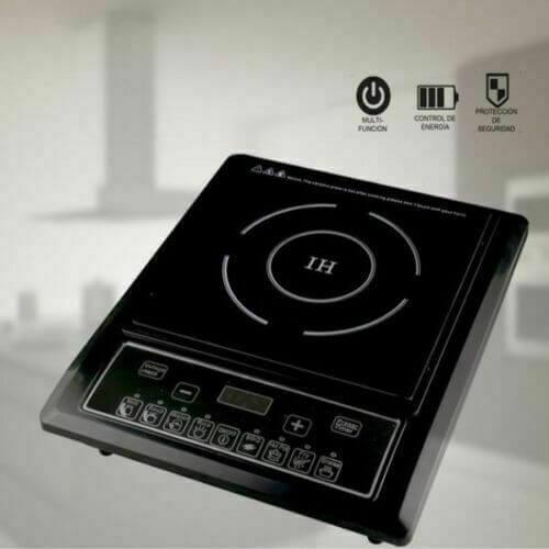 cocina eléctrica placa inducción portatil 2000w