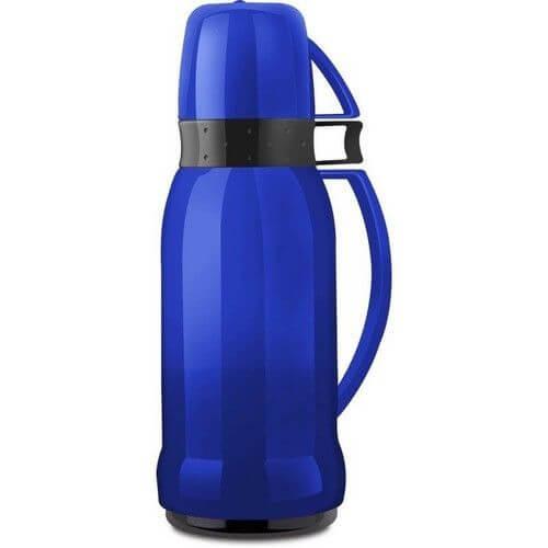 termo con taza azul