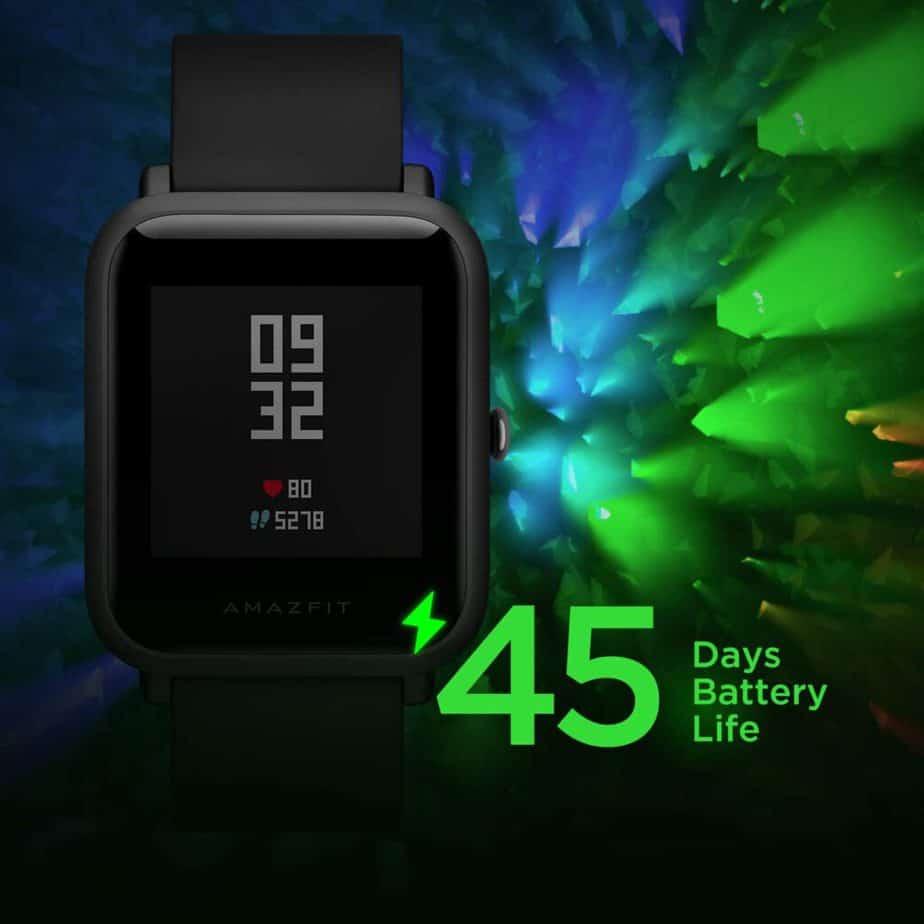 Reloj inteligente larga duración bateria