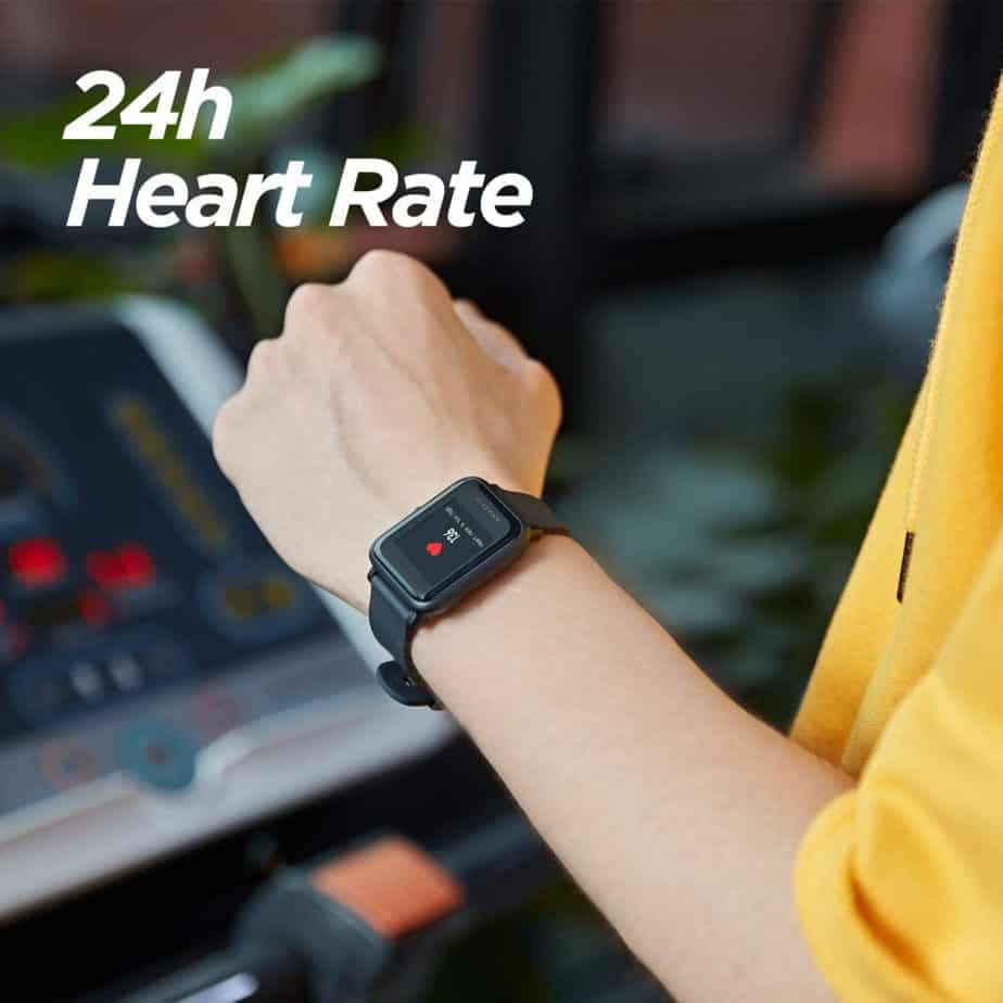 Smartwach AMAZFIT BIP LITE ritmo cardiaco