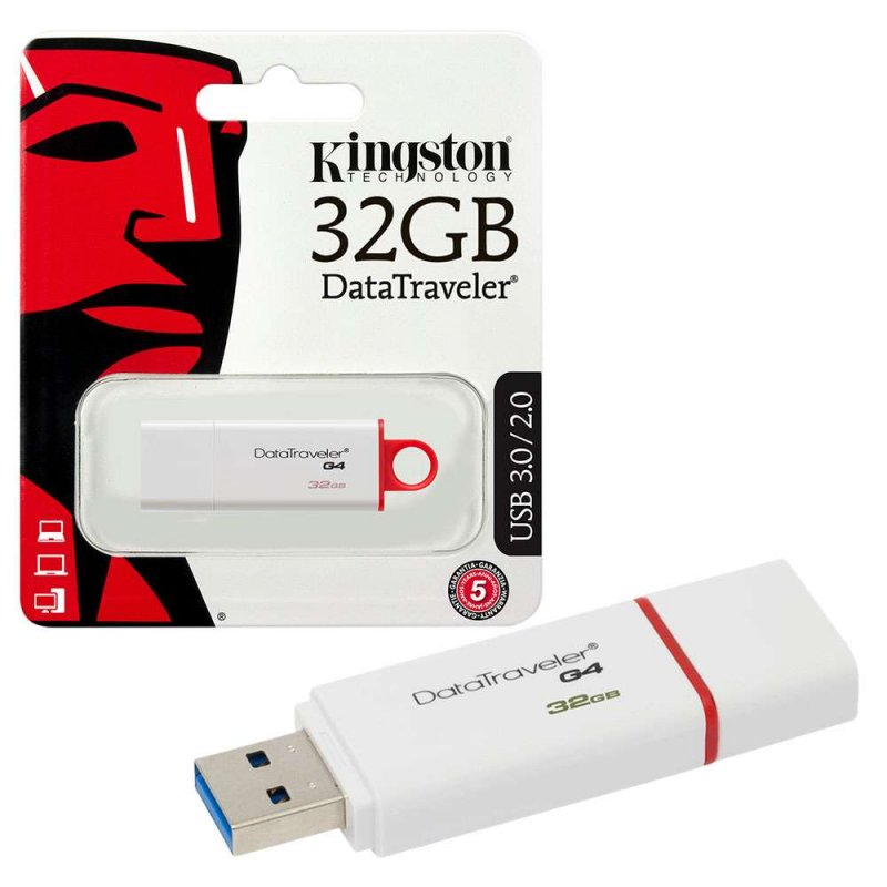Pendrive 32gb USB 3.0 DataTraveler DTIG4 Kingston