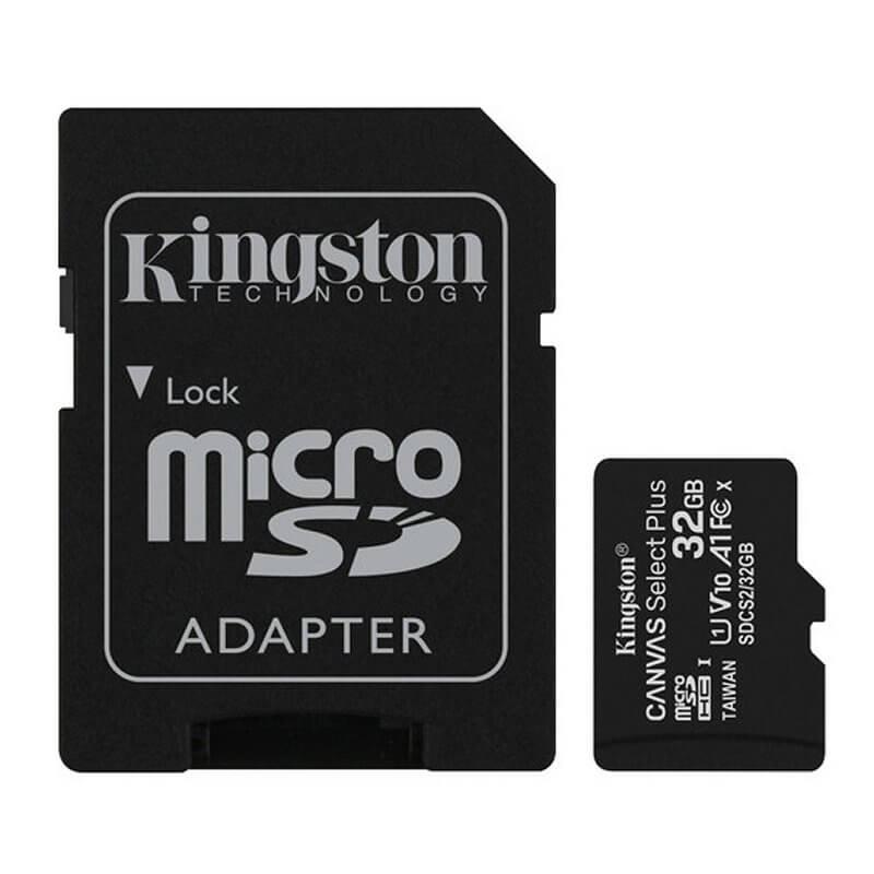 Tarjeta de memoria micro SD 32gb XC clase 10 Kingston SDCS2