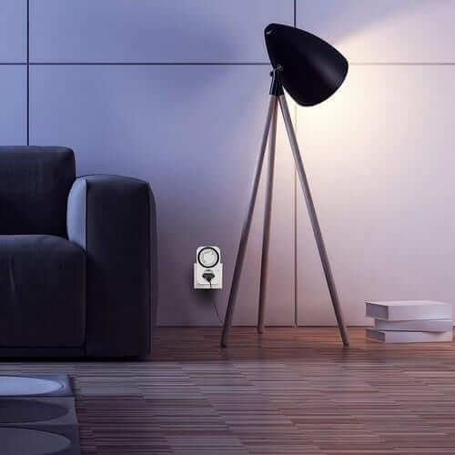 temporizador manual lámparas luces 24H