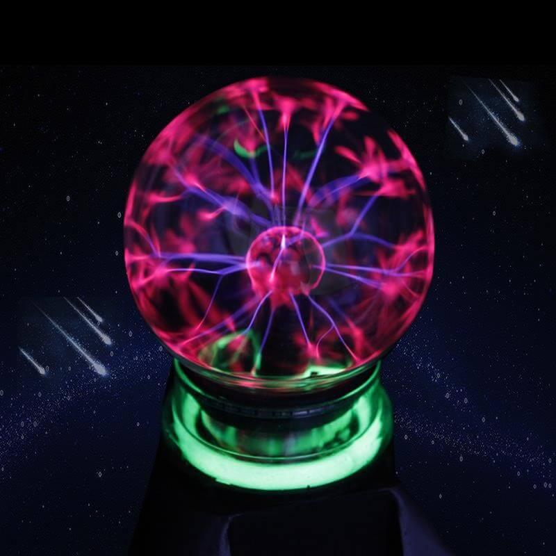 Bola de plasma lámpara de rayos magica