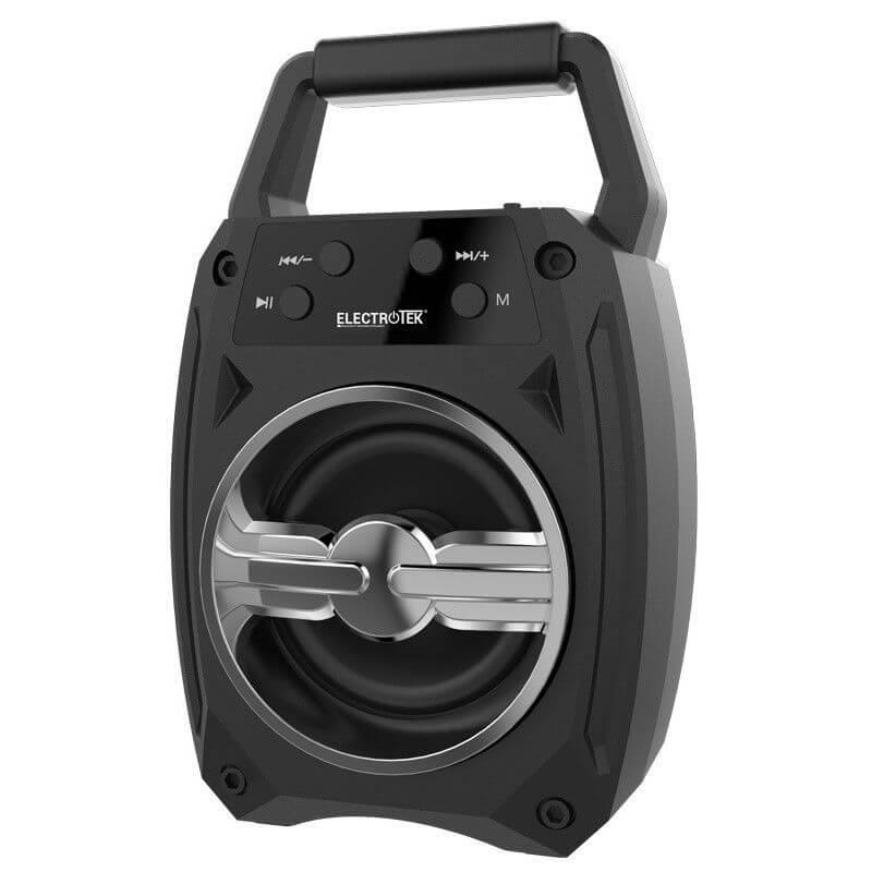 altavoz portatil bluetooth 42edr 5w electrotek et ps100 gris