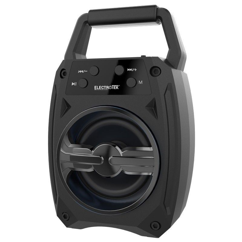 altavoz portatil bluetooth 42edr 5w electrotek et ps100 negro