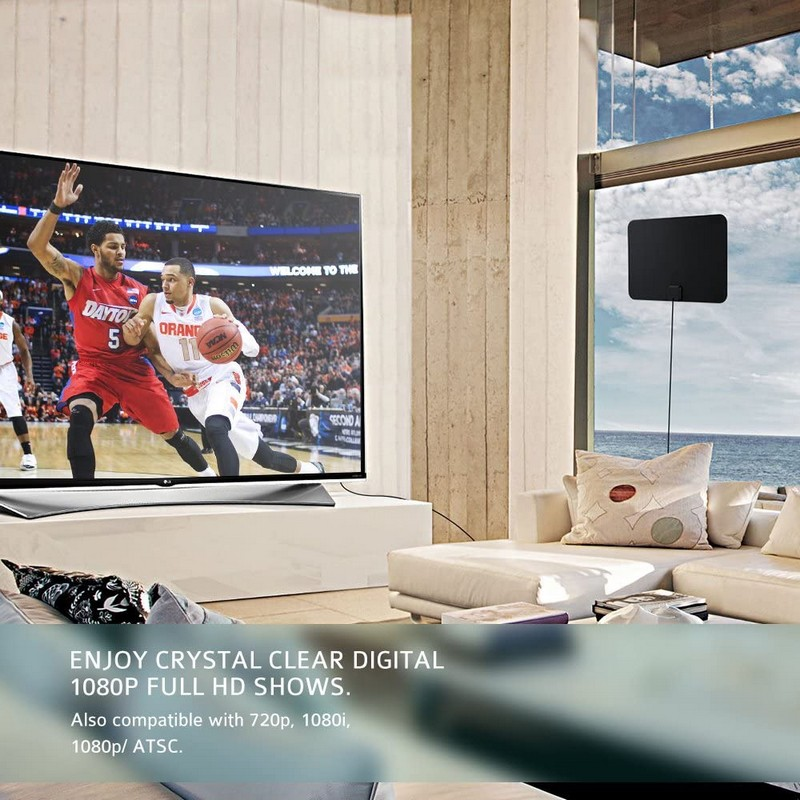 antena digital para interior vivienda